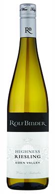 Rolf Binder, Eden Valley, Highness Riesling, 2013