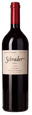 Schrader Cellars, Oakville, RBS Cabernet Sauvignon,