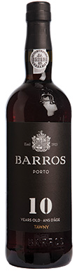 Barros, Port, 10 Year Old Tawny, Douro, Portugal