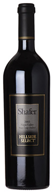 Shafer, Stag's Leap District, Napa Valley, Hillside Select