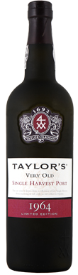 Taylor's, Port, Very Old Single Harvest, Douro, 1964