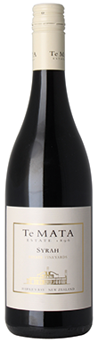 Te Mata Estate, Syrah, Hawke's Bay, New Zealand, 2013