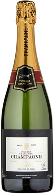Tesco, Grand Cru, Finest  Brut, Champagne, France, 2009