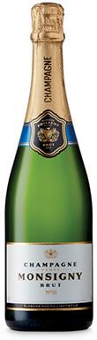 Veuve Monsigny, Blanc de Blancs, Champagne, France, 2006