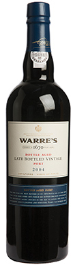 Warre's, Port, Bottle Matured Late Bottled Vintage, 2004