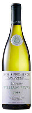 Domaine William Fevre, Chablis, 1er Cru Vaulorent, 2014