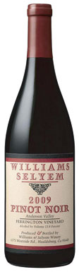 Williams Selyem, Mendocino County, Ferrington Vineyard,