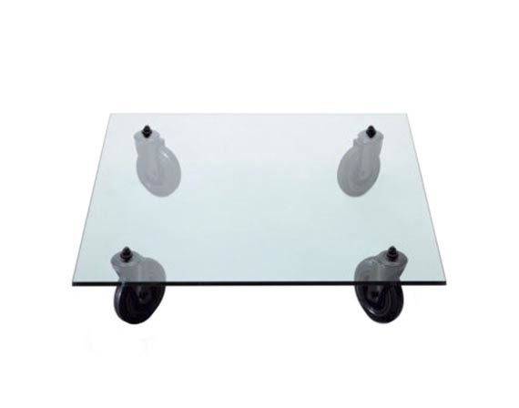 Table with wheels, FontanaArte