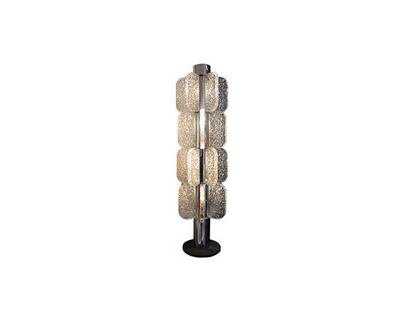 Floor lamp, Mazzega