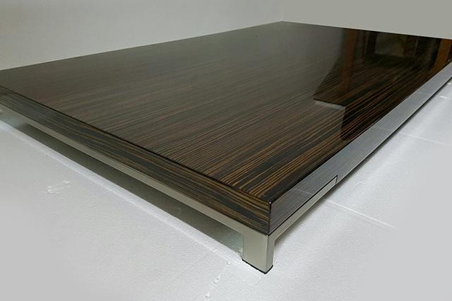 Tavolino Romeo (ebano lucido), Zanotta - Deesup