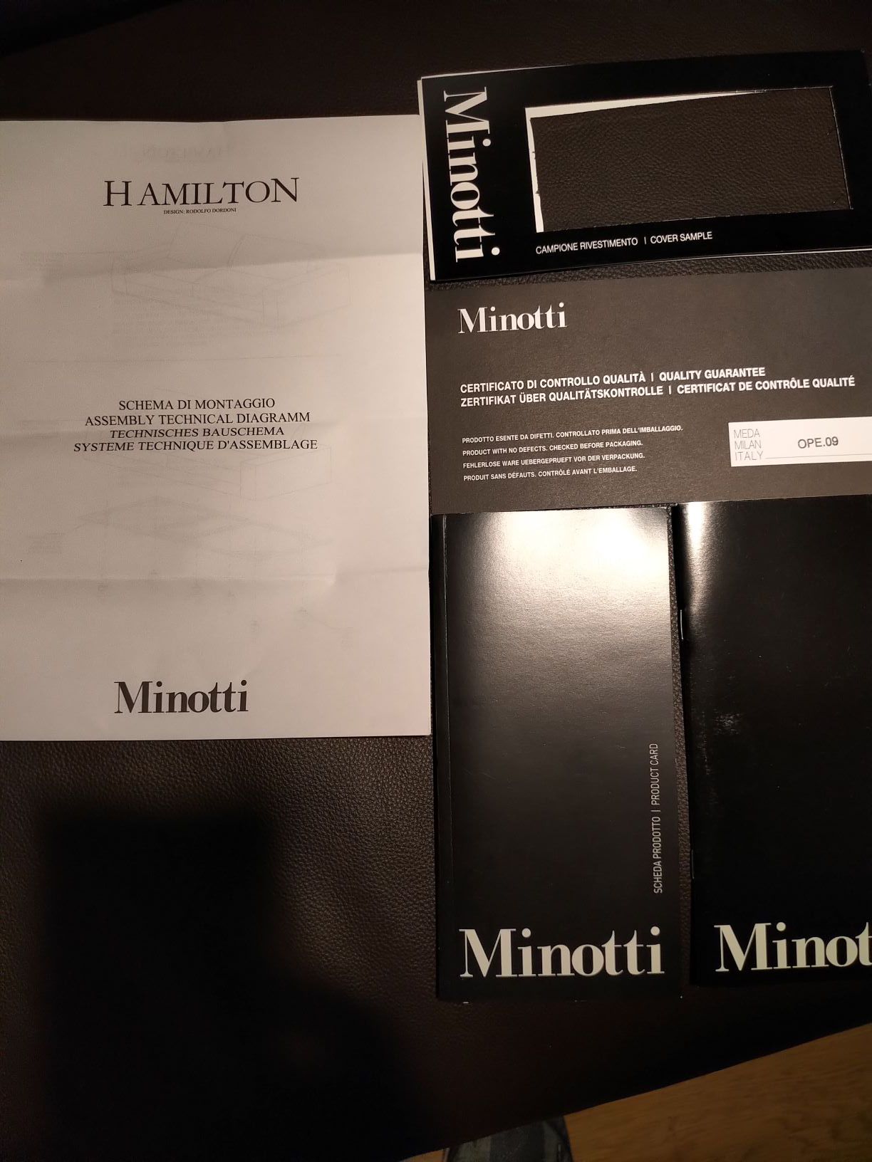 Hamilton Divano, Minotti - Deesup