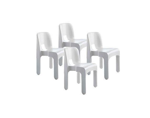Set 4 sedie, Kartell