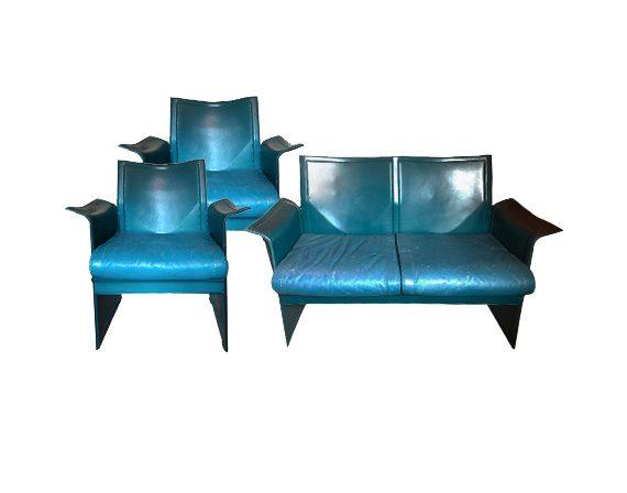Set sofa and 2 armchairs Korium, Matteograssi