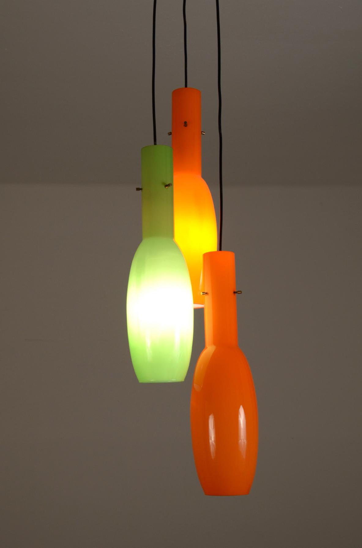 Glass chandelier, Vistosi - Deesup