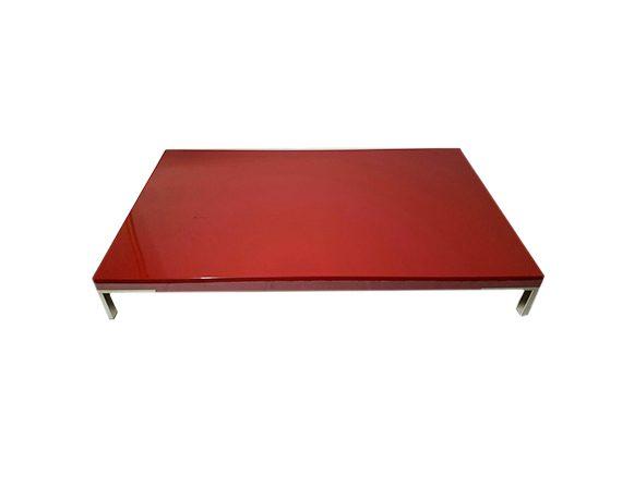 Tavolino Romeo (rosso lucido), Zanotta