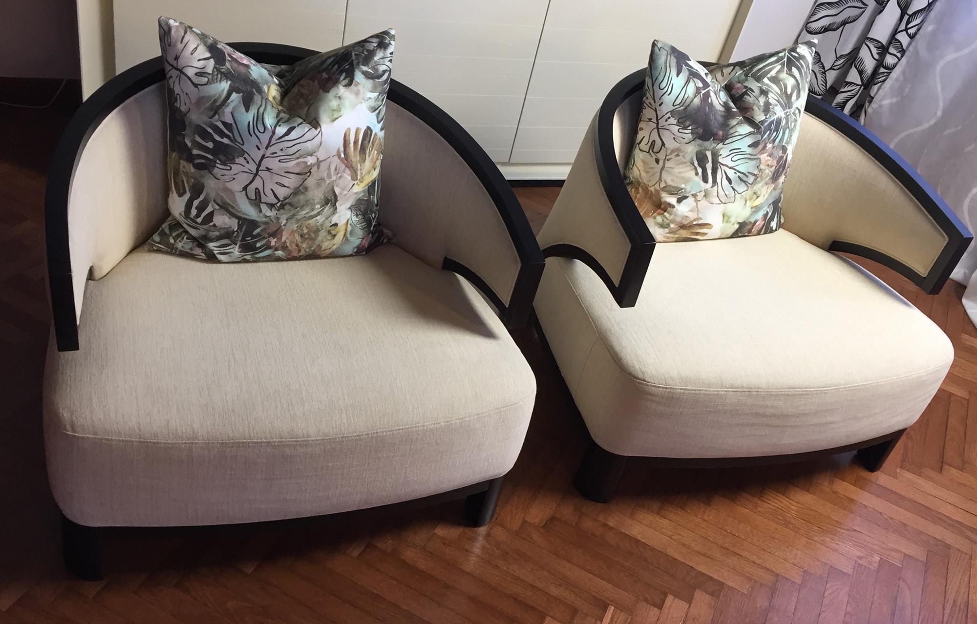 Set 2 Villa Lounge Chair, Pietro Costantini - Deesup