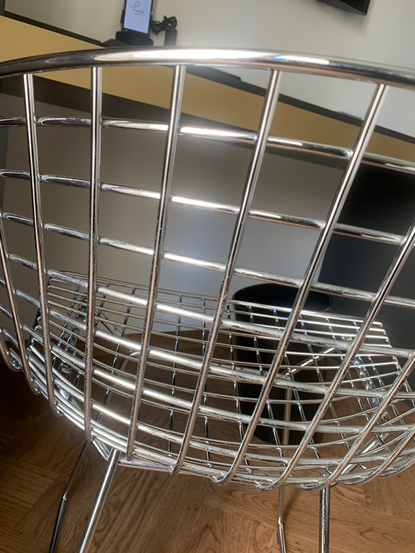 Bertoia Side Chair (acciaio), Knoll - Deesup