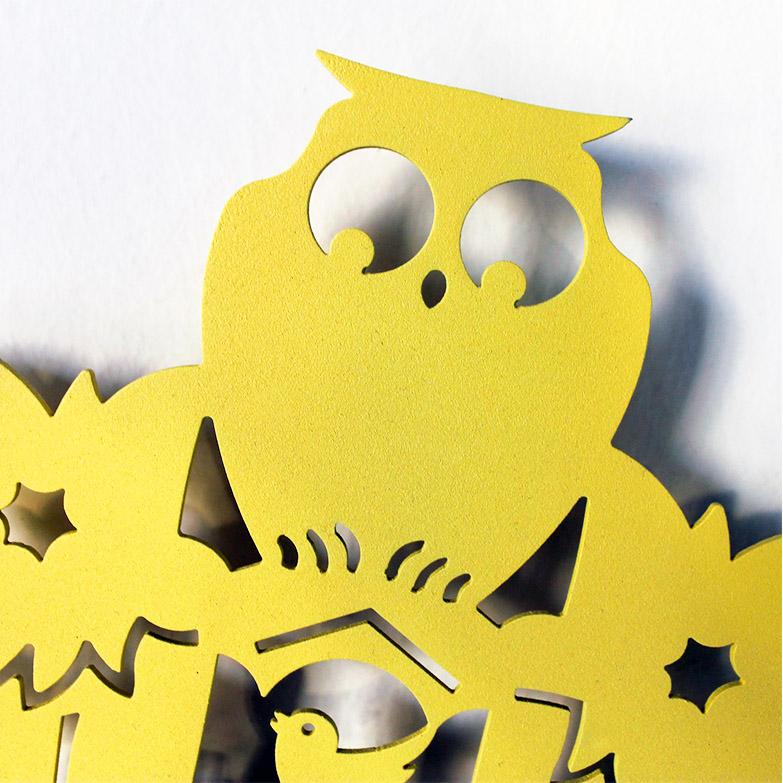 Kukù Clock, Nikla Steel Design - Deesup