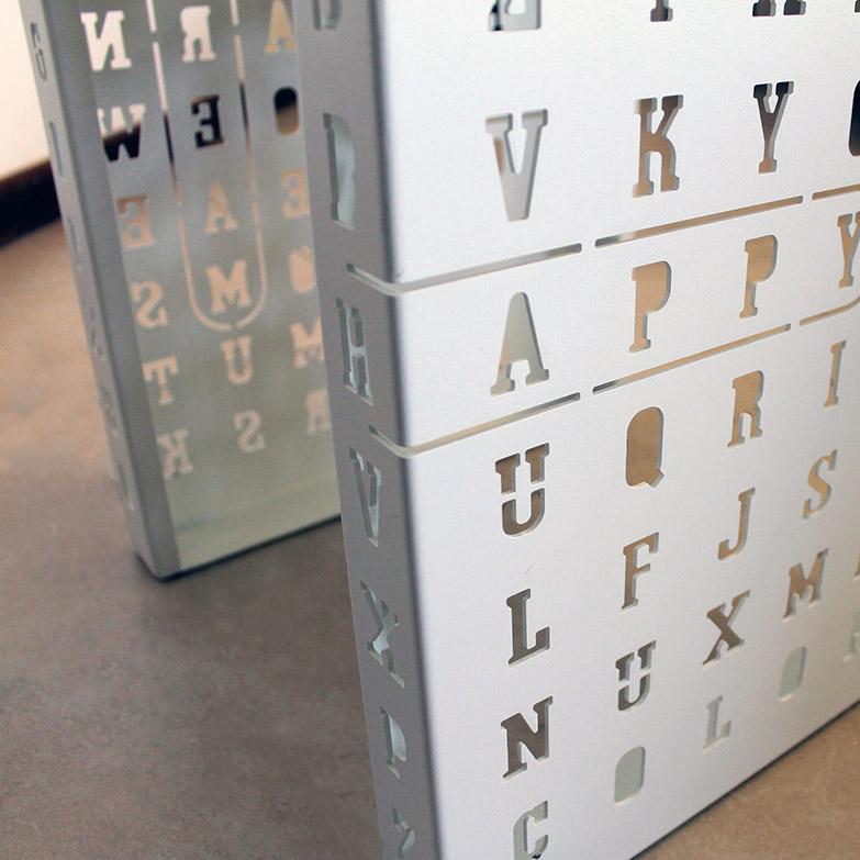 Tavolino Crossword, Nikla Steel Design - Deesup
