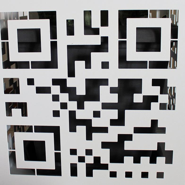 Vaso Qr code, Nikla steel design - Deesup