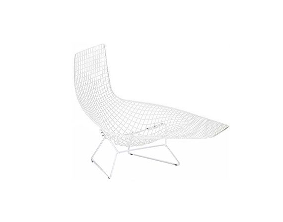 Bertoia Asymmetric Chaise, Knoll
