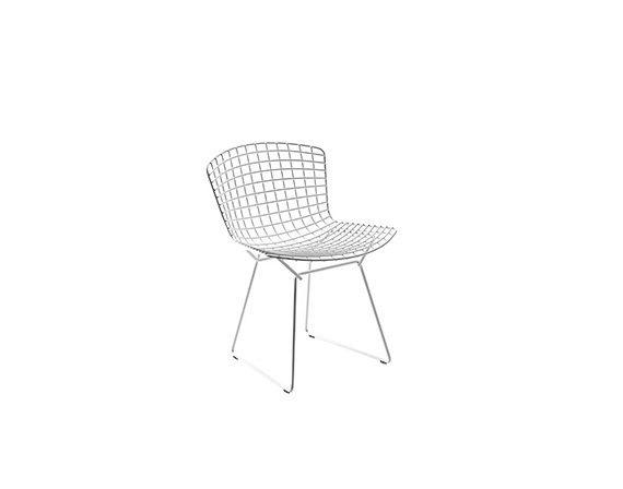 Bertoia Side Chair (acciaio), Knoll