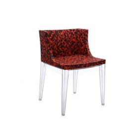 Poltroncina Mademoiselle Memphis (schizzo rosso) - Deesup