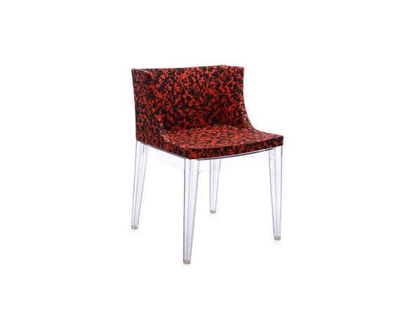 Poltroncina Mademoiselle Memphis (schizzo rosso), Kartell