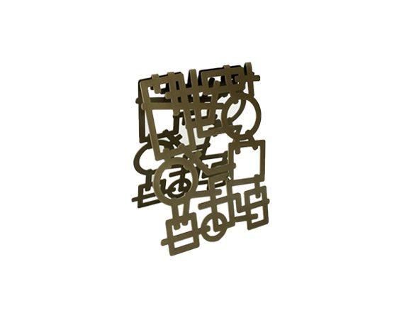 Portabottiglie Sparkling, Nikla Steel Design