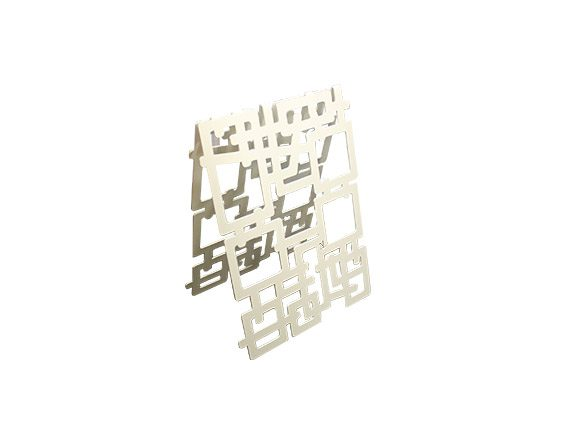 Portabottiglie Kaos, Nikla Steel Design