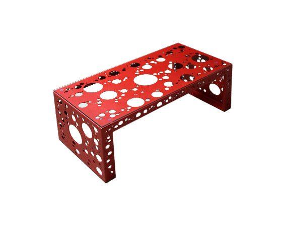 Tavolino Rettangolare, Nikla Steel Design