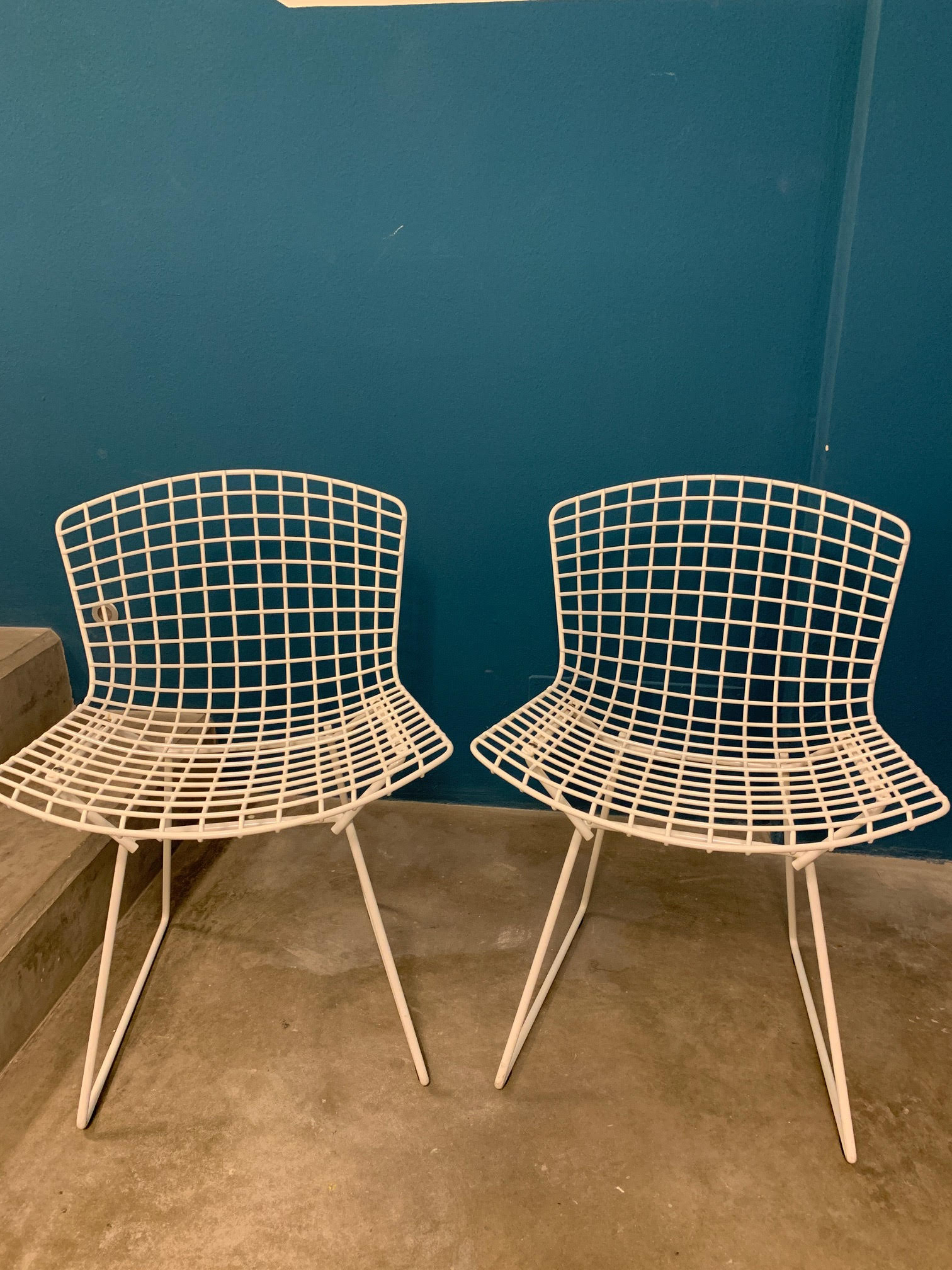 Bertoia Side Chair (bianco), Knoll - Deesup