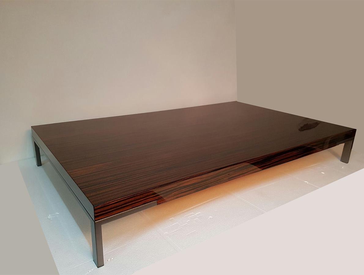 Coffee Table Romeo (polished ebony 22 cm), Zanotta - Deesup