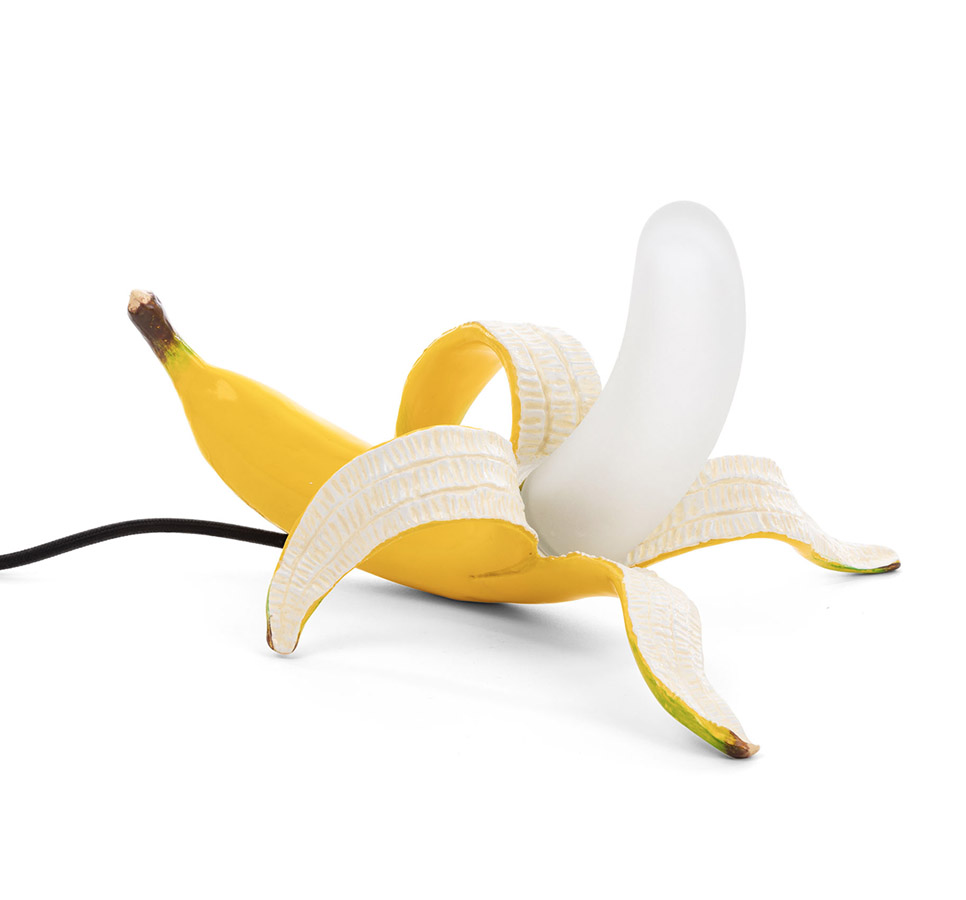 Banana Lamp Yellow (Dewey), Seletti - Deesup
