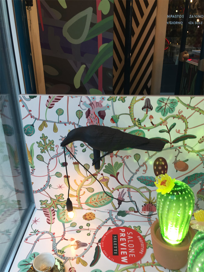 Bird Lamp Black Looking, Seletti - Deesup