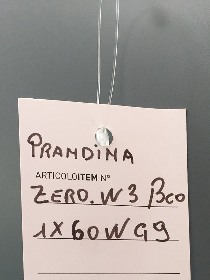 Zero W3, Prandina - Deesup