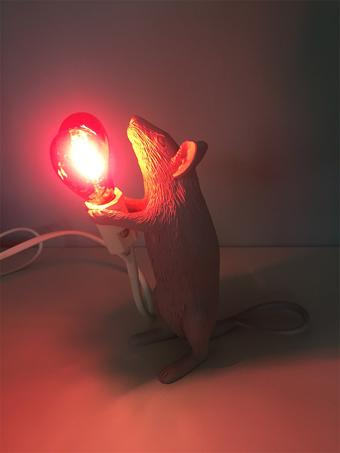 Mouse Lamp Love Edition, Seletti - Deesup