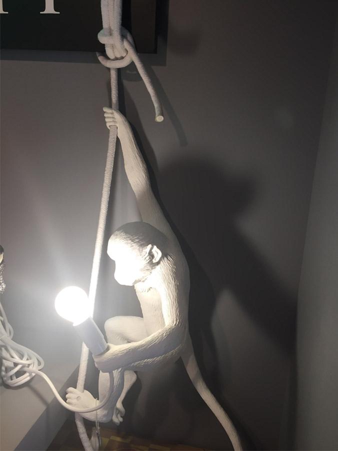 The Monkey lamp (ceiling), Seletti - Deesup