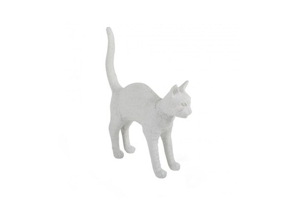 Jobby The Cat (White), Seletti