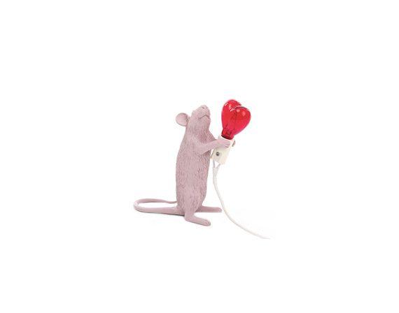 Mouse Lamp Love Edition, Seletti