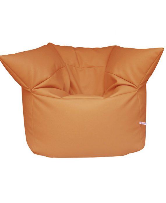 Poltrona Formosa (pelle arancio), Filippo Ghezzani