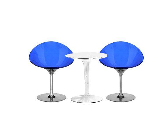 Set 2 Ero/S/ e tavolo TipTop, Kartell