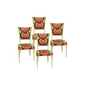 Set 4 60s chairs - Deesup