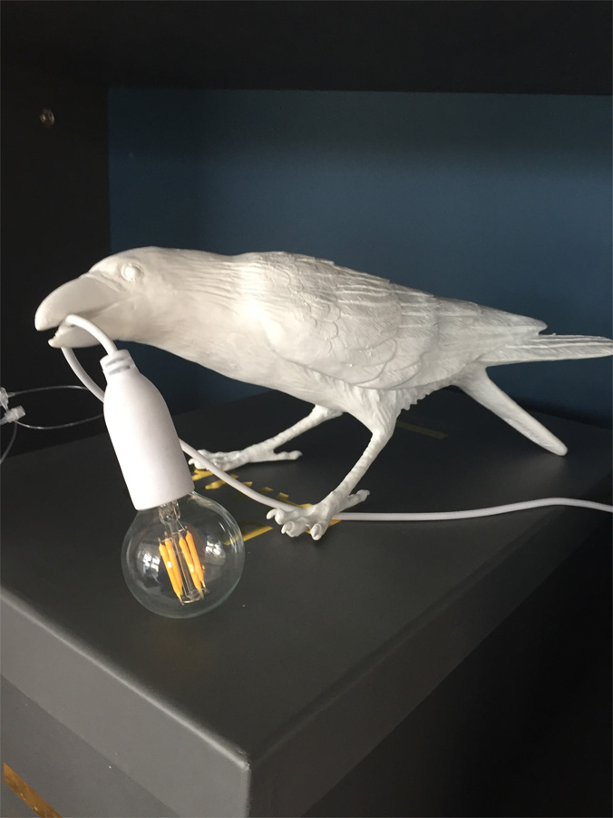 Bird Lamp White Playing, Seletti - Deesup