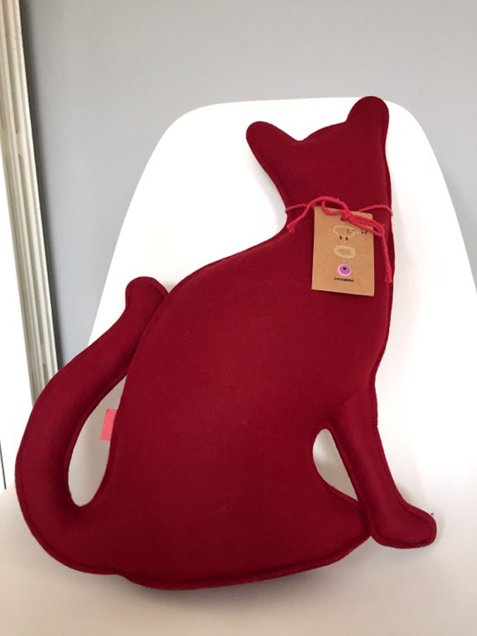 Mother cat (rosso), Paola Abiko - Deesup