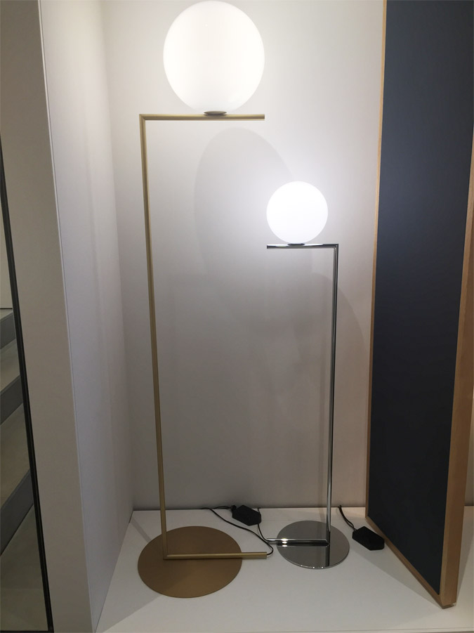 IC Lights Floor 2 (brass), Flos - Deesup