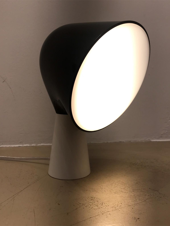 Binic Be Colour! (nero/bianco), Foscarini - Deesup