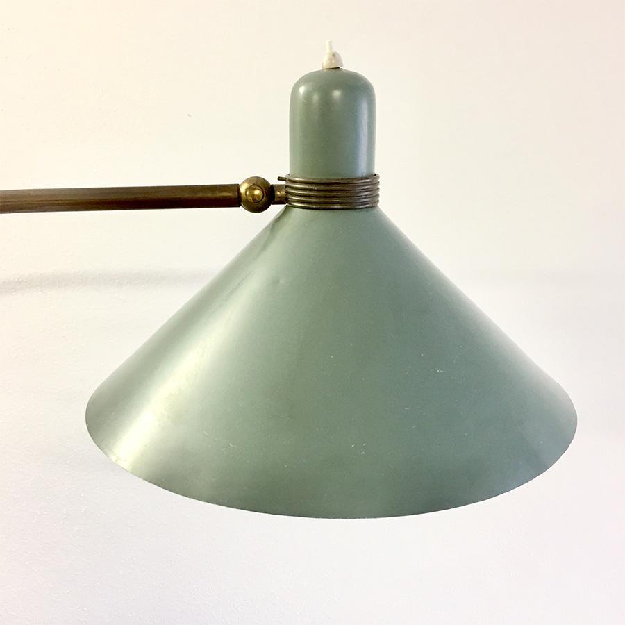 Lampada in ottone anni 50 - Deesup