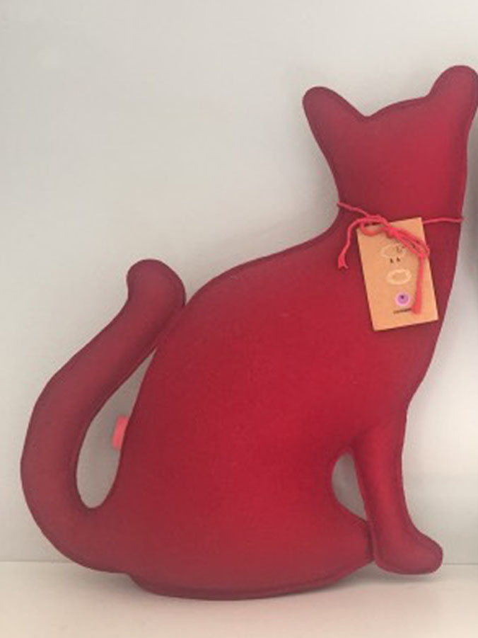 Mother cat (red), Paola Abiko - Deesup