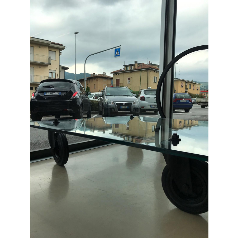 Tavolo con ruote, FontanaArte - Deesup